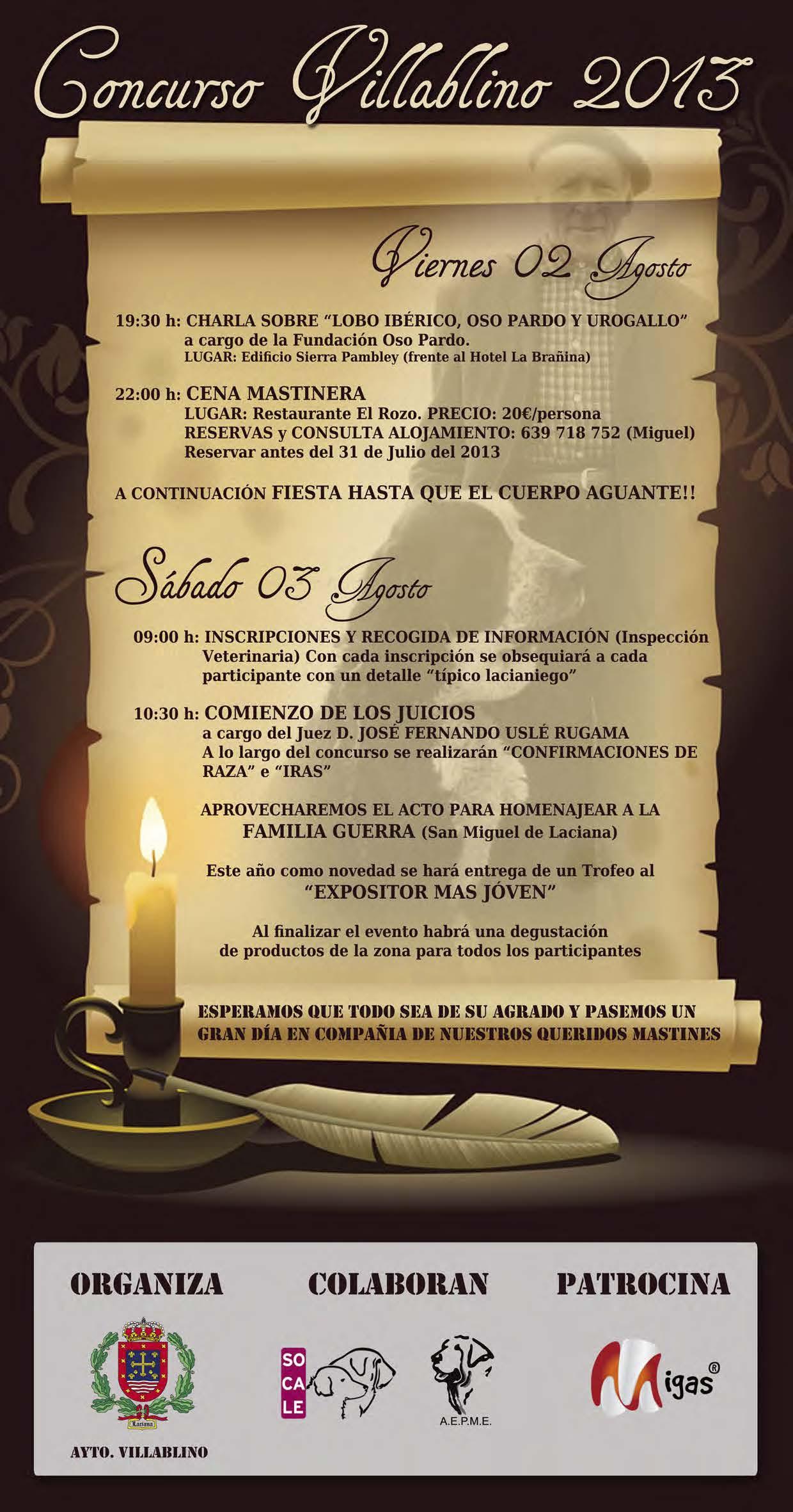 Programa villablino2013